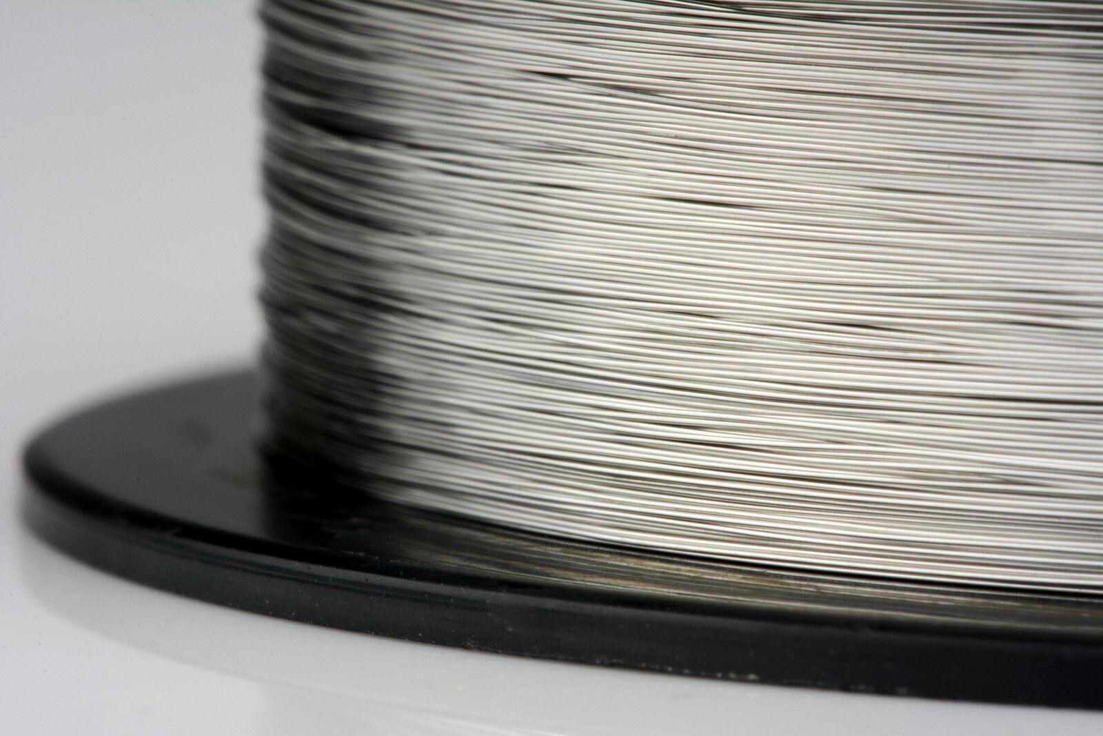 Temco Nichrome 60 Series Wire 34 Gauge 2500 FT Resistance AWG GA | eBay