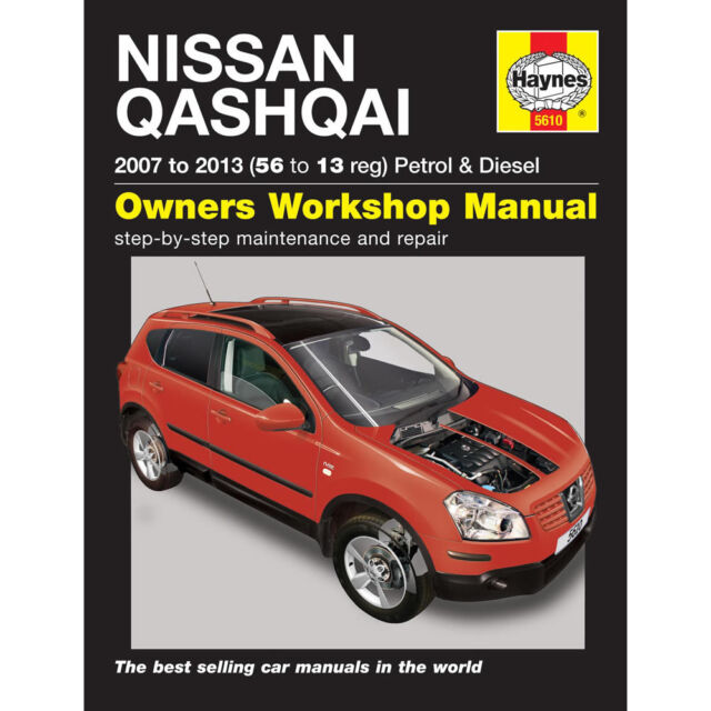 h5610 nissan qashqai petrol diesel 2007 to 2013 haynes repair rh ebay co uk nissan qashqai j10 service manual nissan qashqai workshop manual