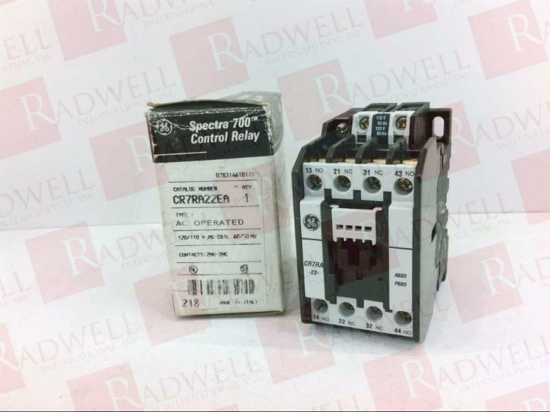 General Electric Spectra700 CR7RA22EA Control Relay Cr7ra Spectra