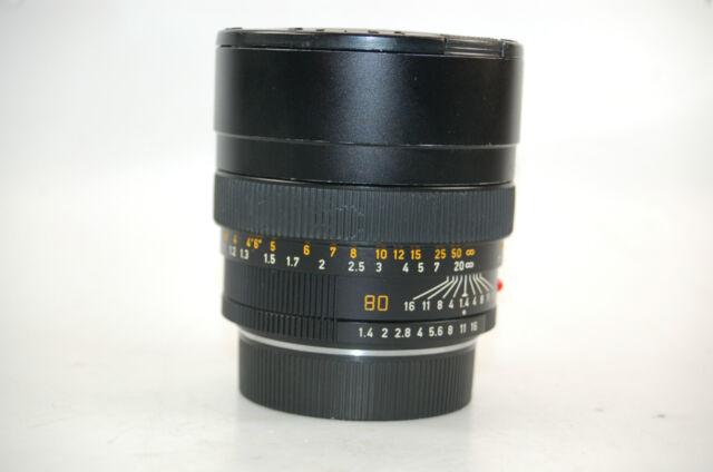 Leica Summilux-R 1:1,4 80mm E67 Leitz Objektiv