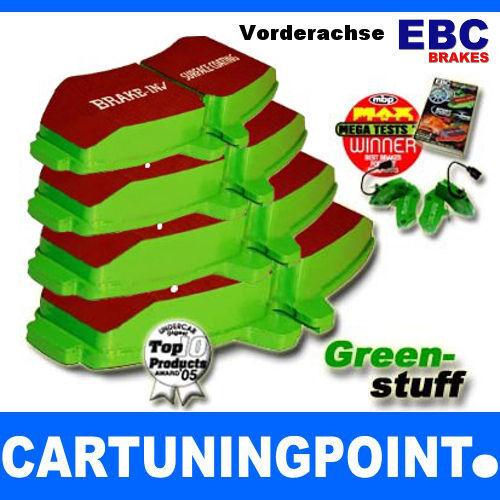 EBC Bremsbeläge Vorne Greenstuff für Alfa Romeo Mito 955 DP22021