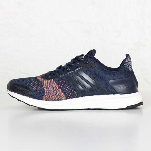 Adidas Ultra Boost ST Ltd Collegiate Navy/Collegiate Navy Men size 6 AQ5557