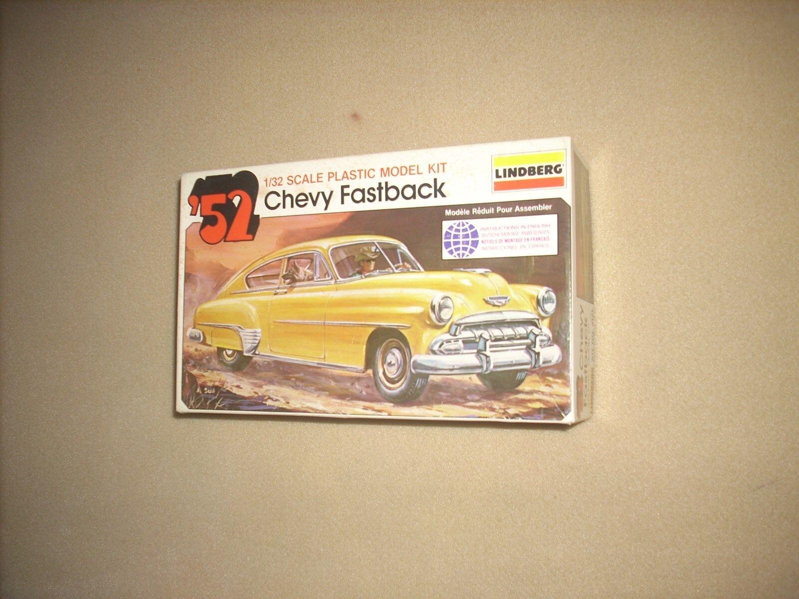 Lindberg 1952 Chevy Fastback 1/32 Model Kit Parts Vintage   eBay