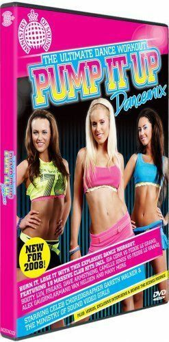 Ministry Of Sound Pump It Up - Dancemix DVD Keep Fit, Excersice, Dance Workout