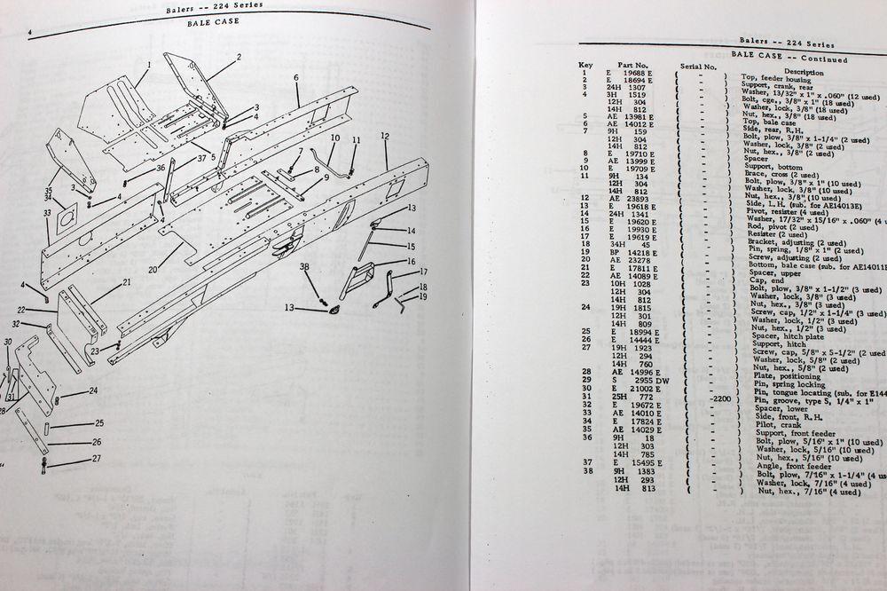 s l1600 hd 2200 baler manual 100 images deere 224 224t 224ws baler piqua baler wiring diagram at eliteediting.co