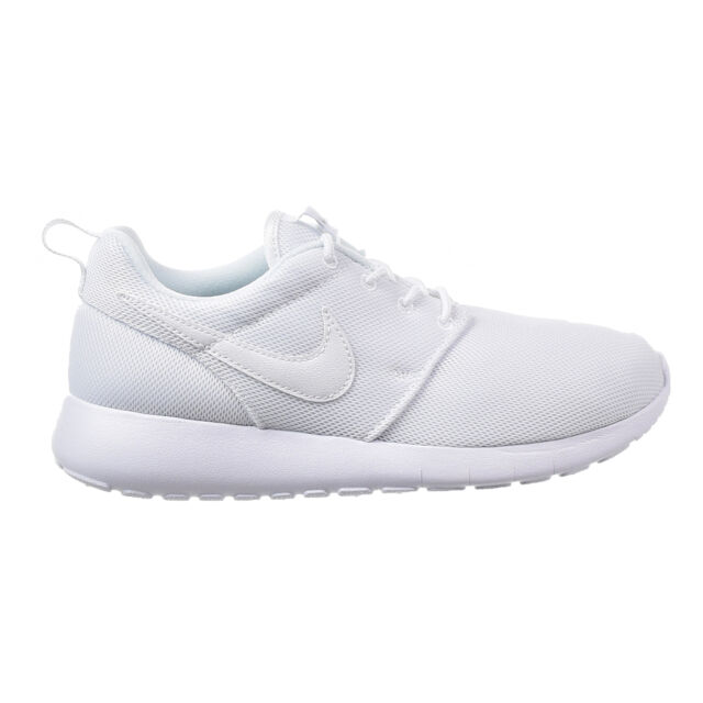 Nike Roshe One (GS) Big Kid's Shoes White/White/Wolf Grey 599729