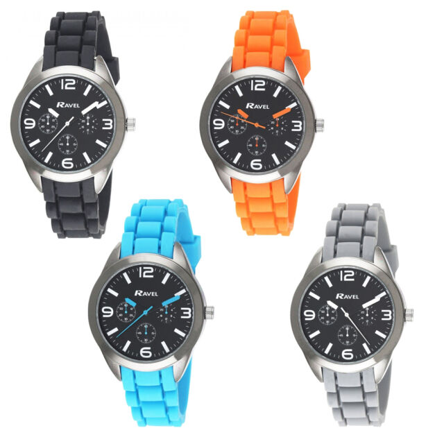 Ravel Boys Analogue Silicon Strap Sports Watch R1803