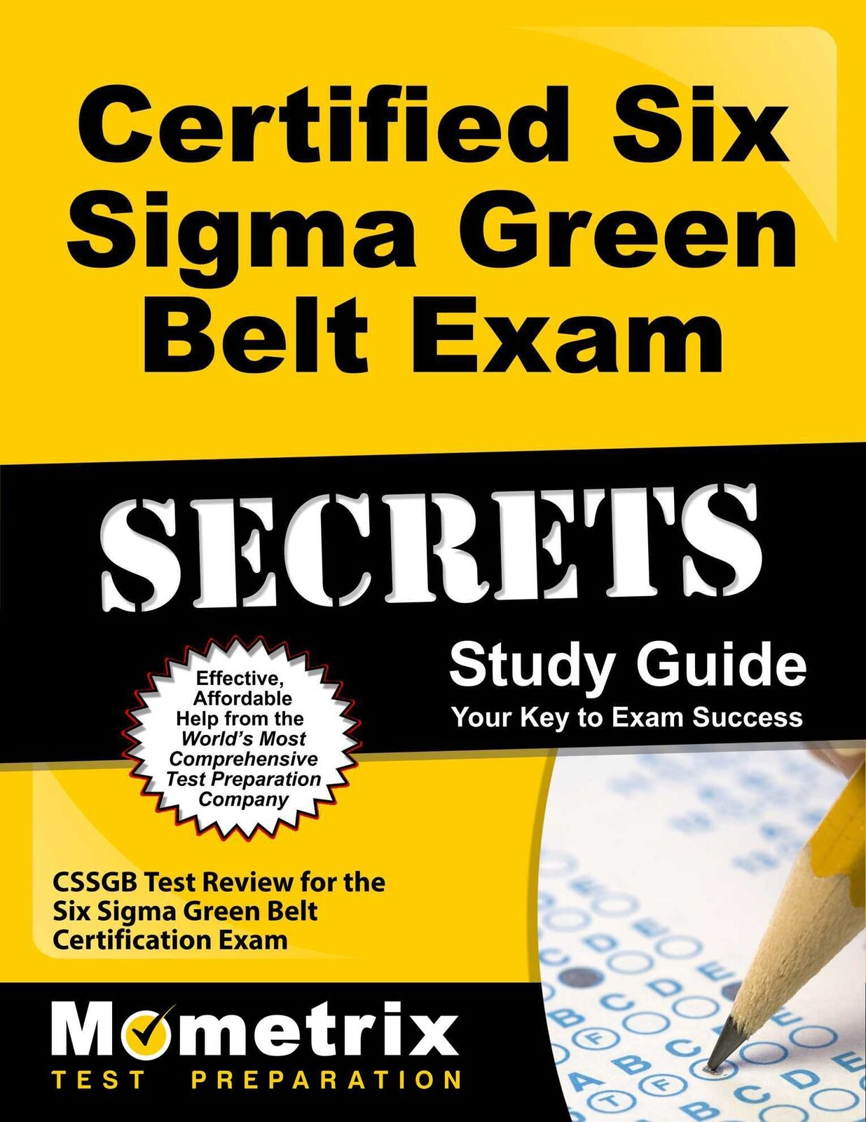 Certified six sigma green belt exam secrets study guide cssgb picture 1 of 1 1betcityfo Gallery