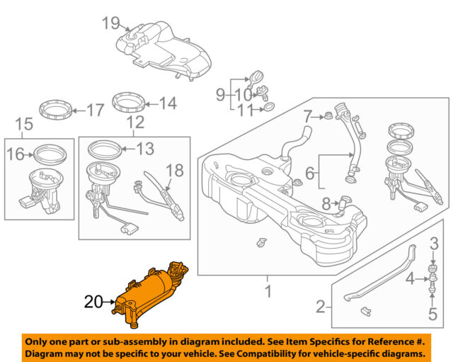 s l640 bmw e46 fuel tank charcoal canister filter gas vent flap evap 330 bmw e46 fuel system diagram at virtualis.co