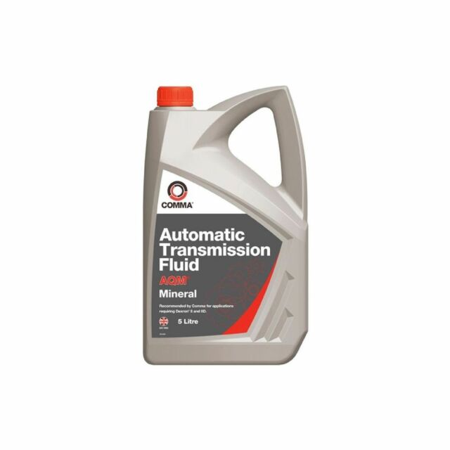 1x Comma AQM Automatic Transmission Fluid 5 Litre Power Steering Gearbox