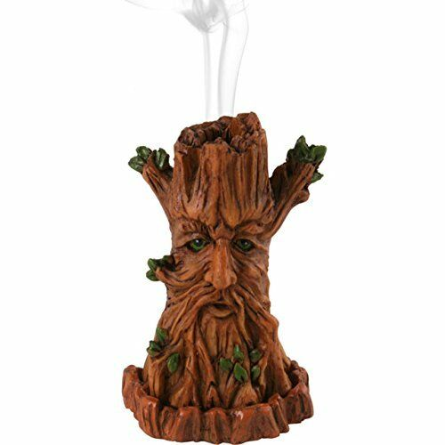 Green Man Incense Cone Holder (CH 64123)
