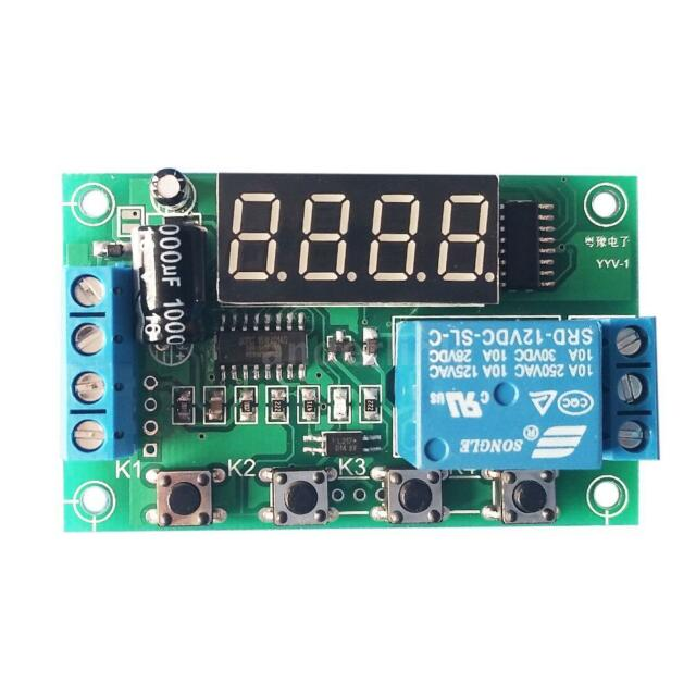 Charging Discharge Voltage Monitor Test Relay Switch Control Board