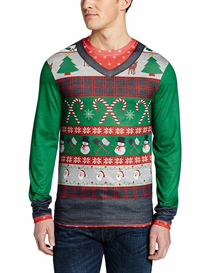 picture 1 of 1 - Adult Ugly Christmas Sweater