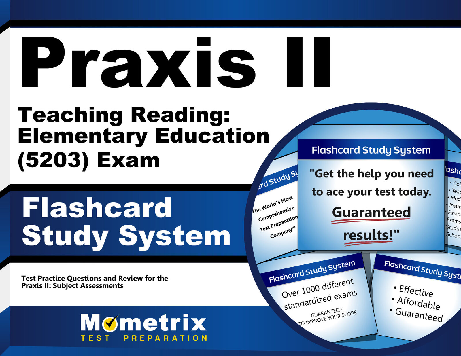 praxis ii teaching reading elementary education 5203 exam rh ebay com Praxis Practice Test For Elementary Education Praxis Study Guide