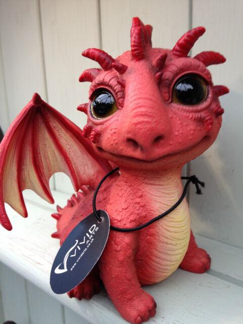 Red Dragon Spike Tail Vivid Arts Garden OrnamentGarden Dragon   eBay. Fairy Garden Ornaments Ireland. Home Design Ideas