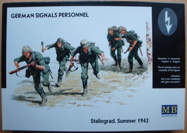 MASTER BOX™ 3540 WWII German Signals Personnel FIGUREN in 1:35