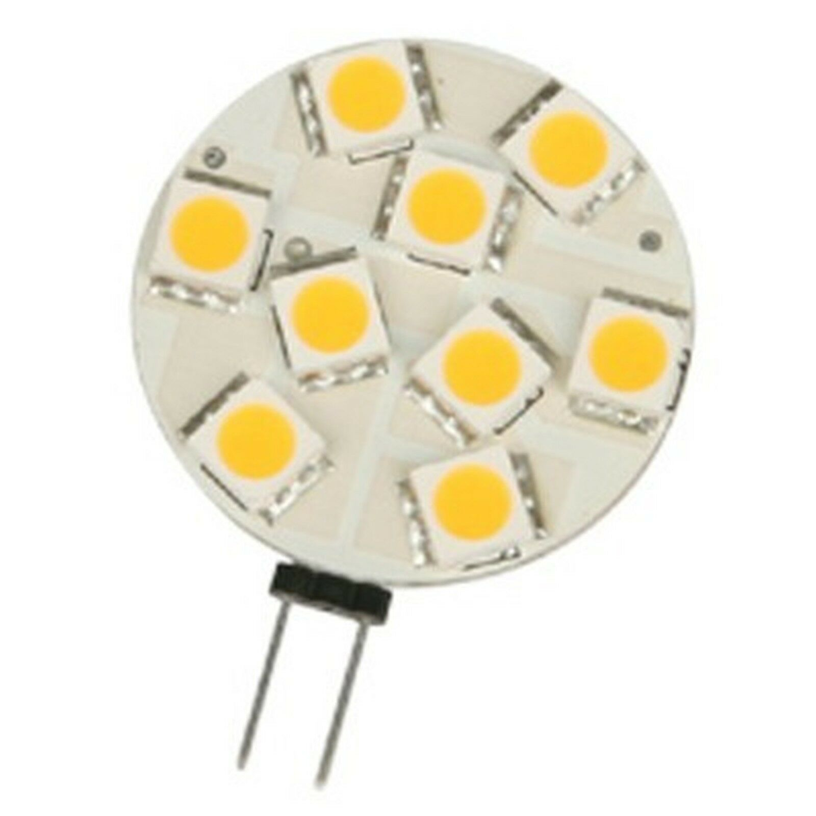 Ctl 2w hockey puck lamp 9 led 12v g4 base warm whi ebay picture 1 of 1 mozeypictures Images