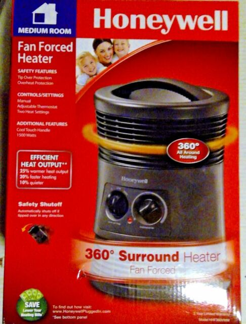 Honeywell - 360 Degree Surround Fan-Forced Heater(HZ-0360) Medium Room - New!!