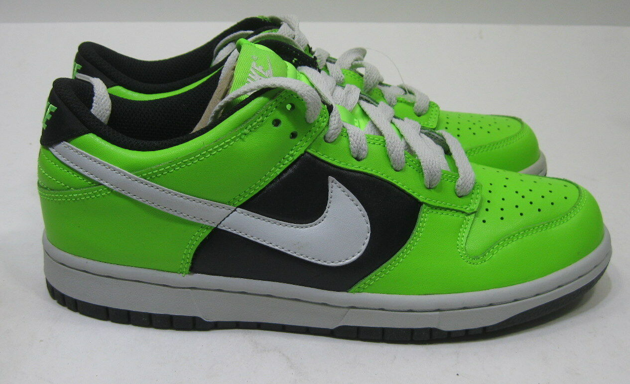 Nike Wmns Dunk Low Le Electric Green 317813-302 Size 6