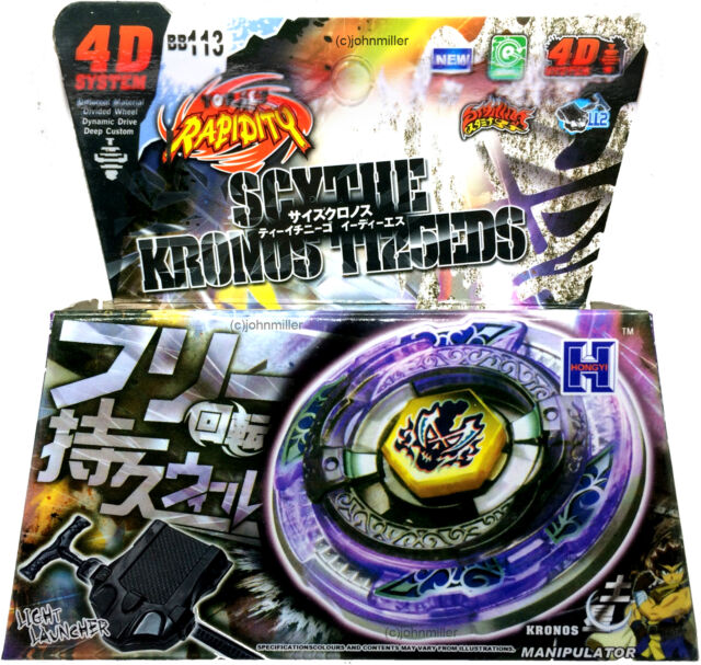 Scythe kronos metal fusion fury masters beyblade set w - Beyblade metal fury 7 ...