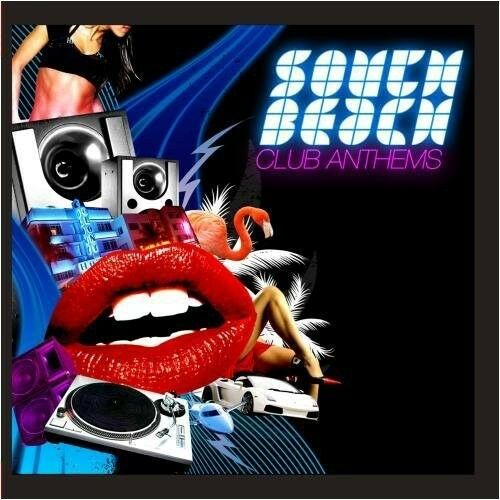 Various Artists - South Beach Club Anthems / Various [New CD] Manufactured On De