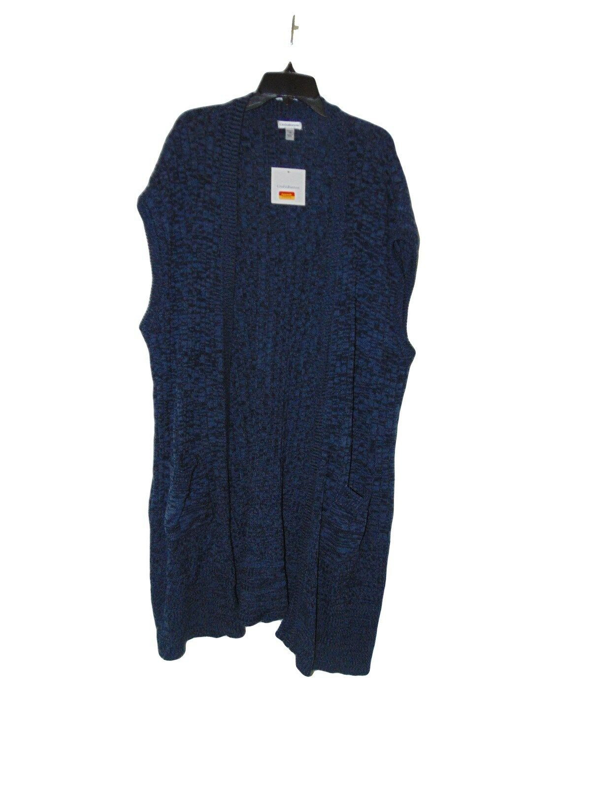 Croft & Barrow Women's Sweater Vest Size 3x Long Shrug Duster ...