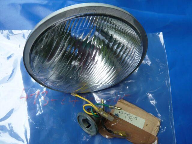 Yamaha Lampeneinsatz Bilux 170mm_Reflektor_413-84304-45_Lampe_Scheinwerfer