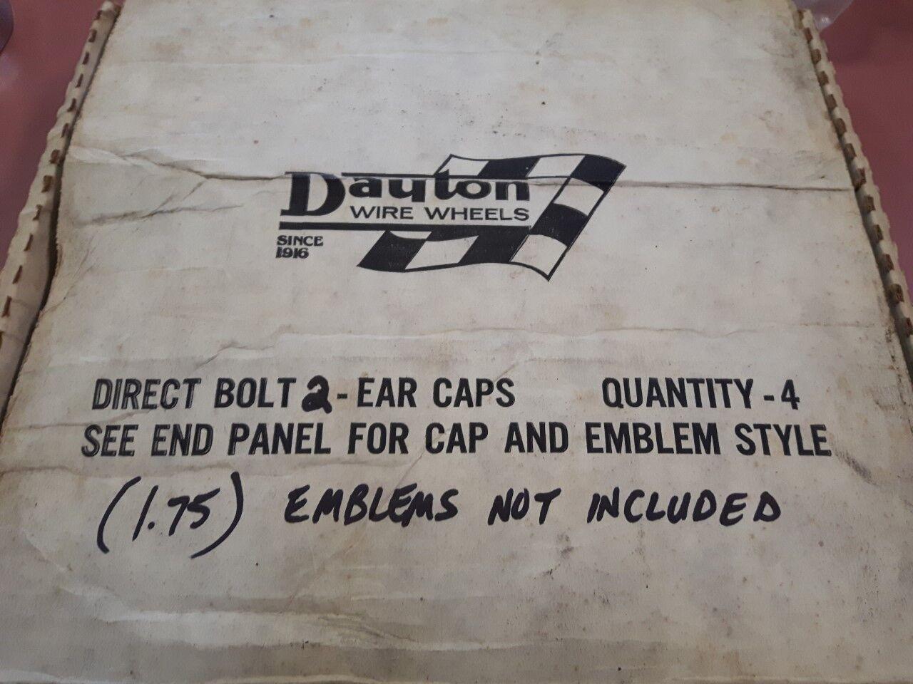 2 Ear Dayton Wire Wheel Center Caps | eBay
