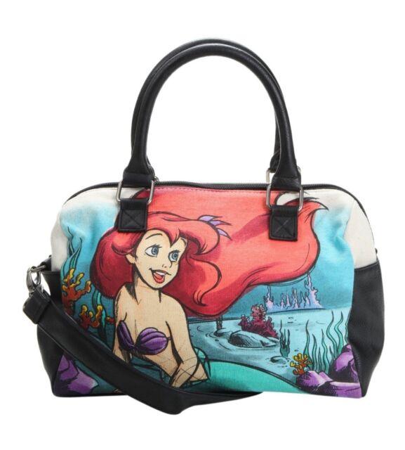 The Little Mermaid Ariel Crossbody Bag Purse Satchel Disney Loungefly New