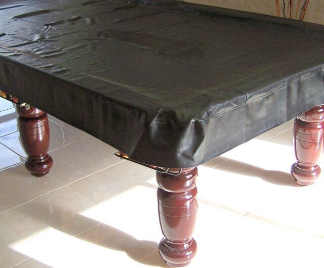 Pool Snooker Billiard Table Cover Fitted Heavy Duty Vinyl 8' ft Foot RRP $130