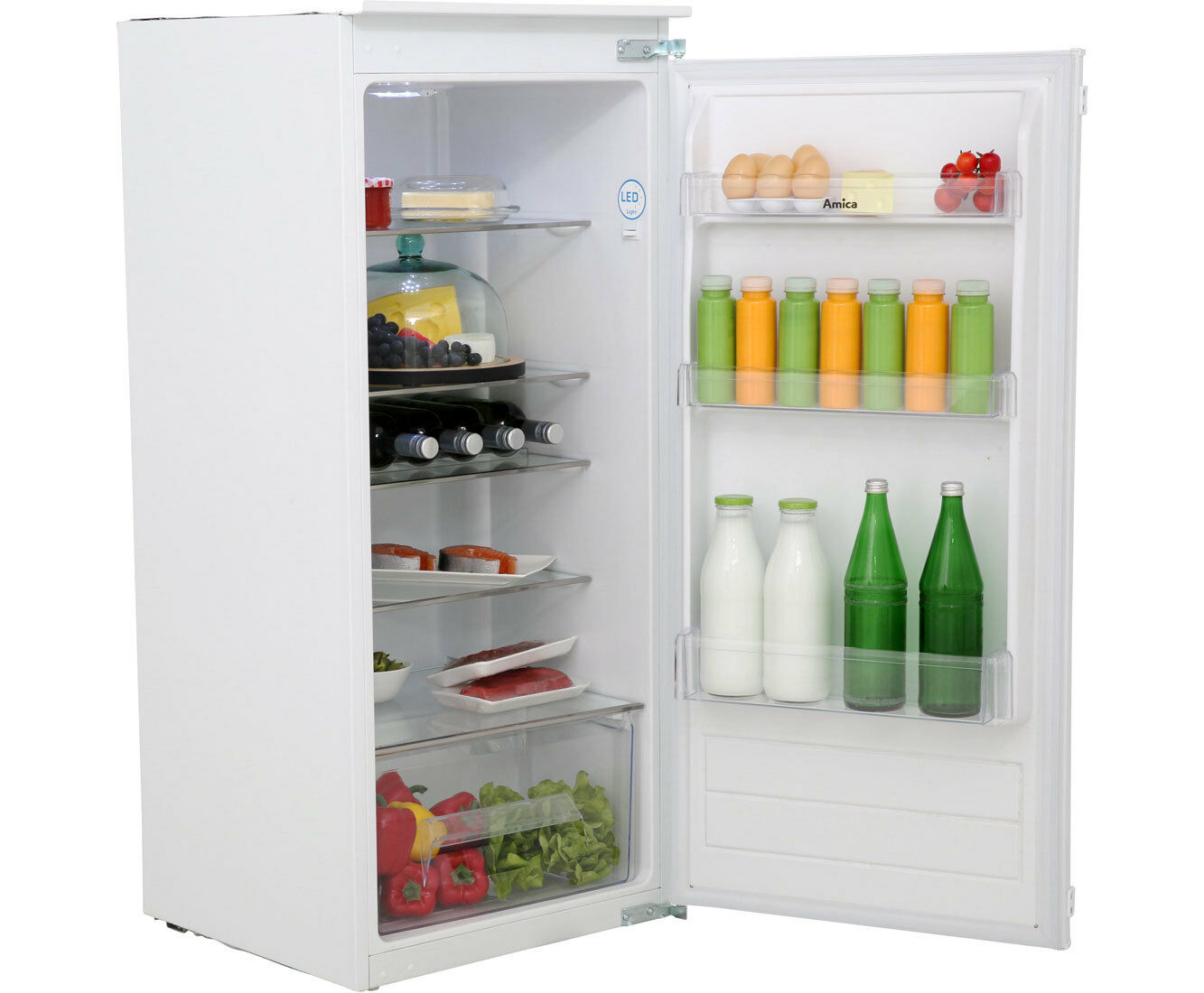 Amica Kühlschrank Vks 15422 W : Amica evks 16175 7.34 cu ft kühlschrank ebay