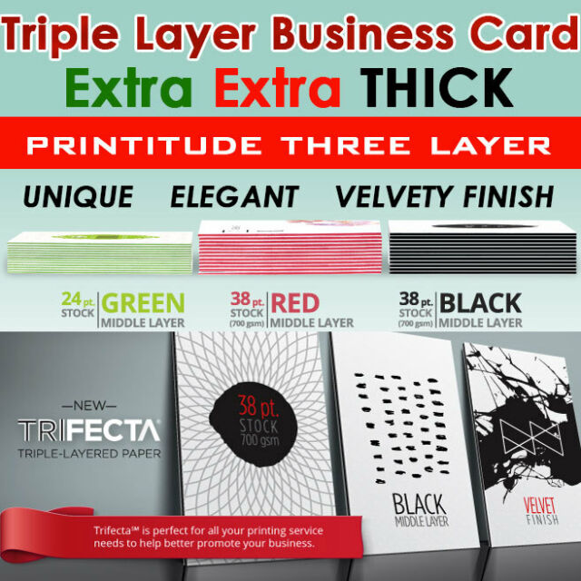 500 thick 38pt triple layer red center trifecta full color business 500 thick 38pt triple layer red center trifecta full color business card 1 sided reheart Choice Image