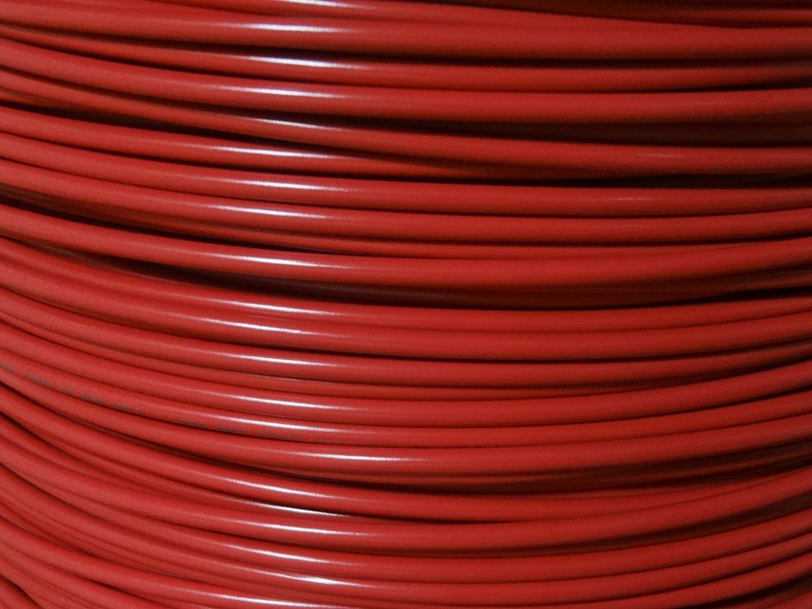 MTW 8 Gauge AWG Red 19 Strands Copper Ground Wire 20\' FT Made in USA ...