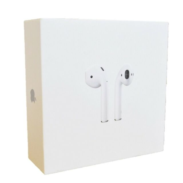 Apple airpods Blanco Genuino In-Ear Auriculares Bluetooth Inalámbrico Con Estuche mmef 2AM/A
