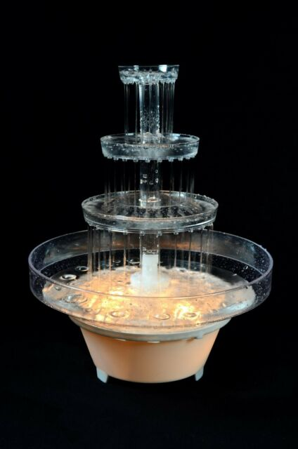 Fanci Water Fountain For Wedding Cake 5786 852665187325 Ebay