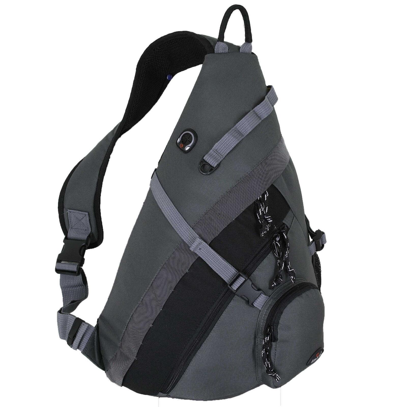 HBAG Sling Backpack Single Strap Shoulder Bag School Travel Sports ...