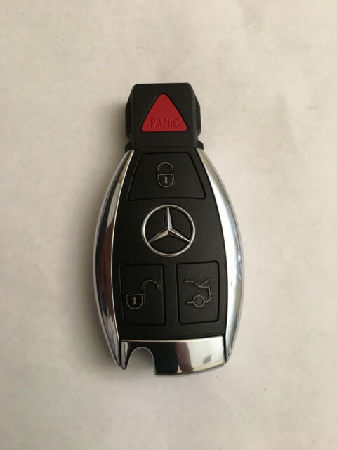 Mercedes benz smart key 4 button remote fob iyzdc11 for Mercedes benz key fob