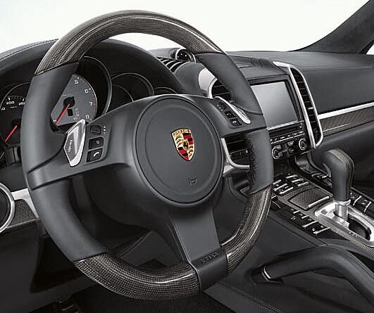 Porsche Panamera 970 Cayenne 958 Carbon Leather Steering Wheel 7pp419091cma34 Ebay