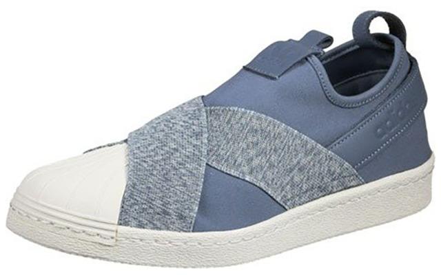Adidas Originals Superstar Kit escape Slip - on w correa azul beige zapatos de mujer