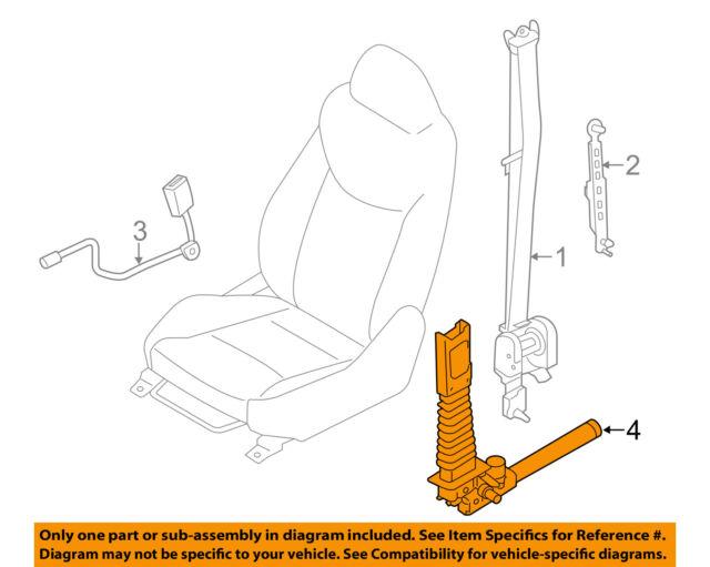 13 14 hyundai elantra oem left front seat belt pretensioner rh ebay com hyundai accent seat belt replacement hyundai i10 seat belt replacement