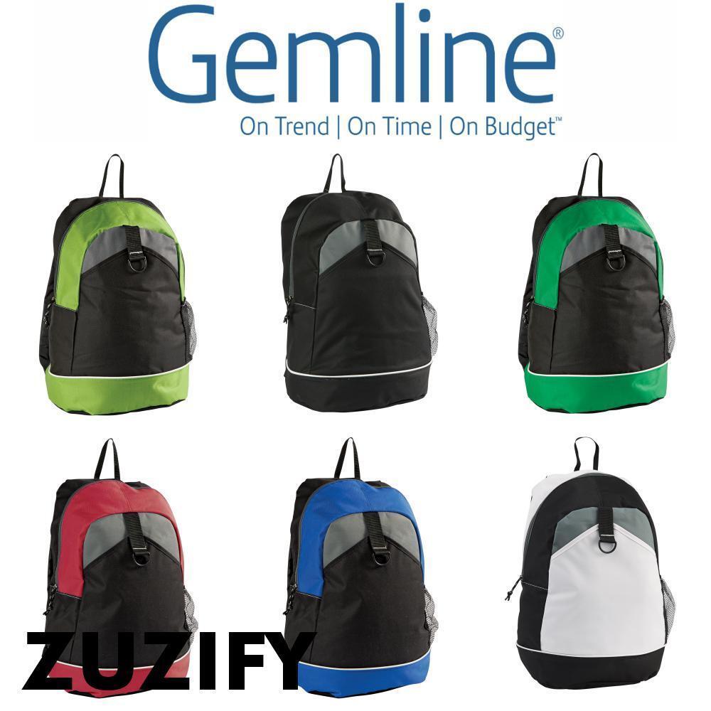 Gemline Canyon Backpack. 5300 Royal Blue One Size | EBay