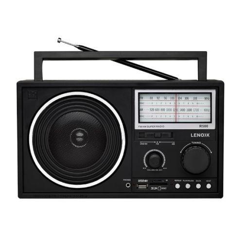 Lenoxx R500  AM/FM Super Radio