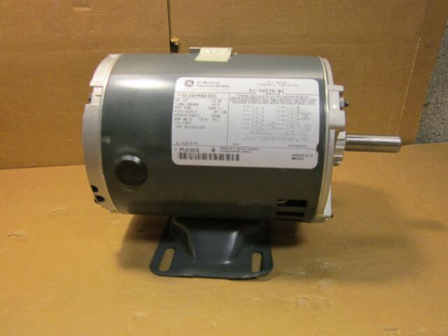 General electric 5kc37rn34x 1 2 hp ac motor thermally for General electric ac motor thermally protected