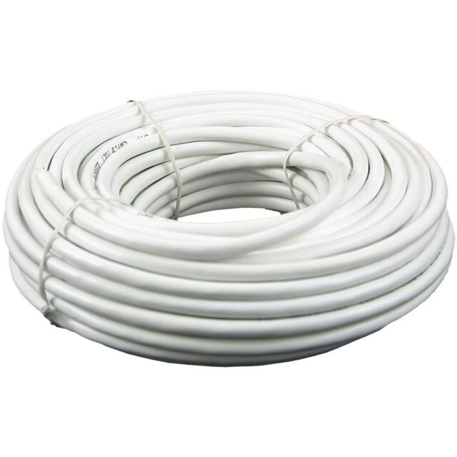 100\' Cat 3 Telephone Installation Cable 6 Wire 3 Pair Phone Cmx ...