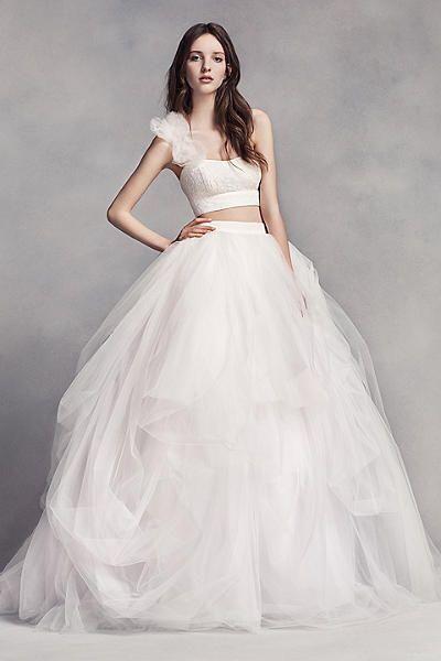 White by Vera Wang Wedding Dress Size 6 | eBay