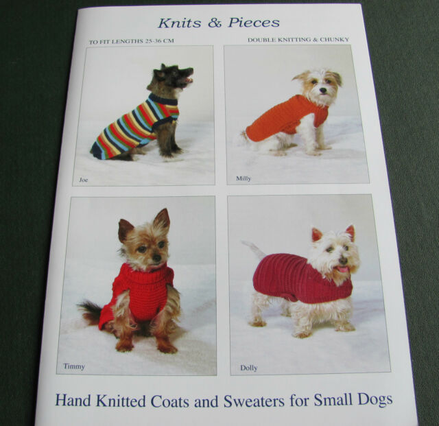 Coats And Sweaters Knitting Pattern For Small Dogs Sandra Polley