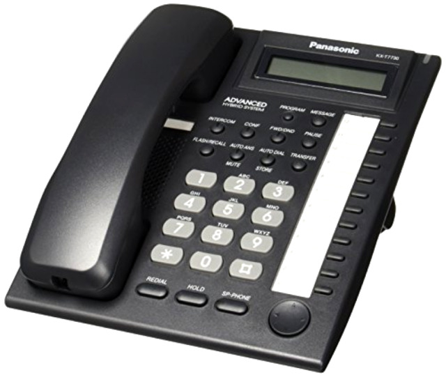 Panasonic Kx T7730 Business Work Office Telephone System Caller Id Speakerphone