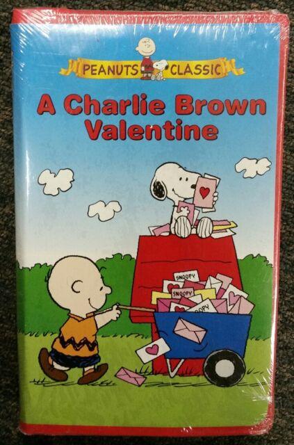 A Charlie Brown Valentine (VHS, 2004, Clamshell) | EBay