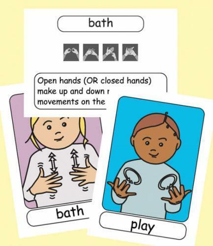 Let's Sign BSL Flashcards: Early Years and Baby Signs (British Sign Language) (.
