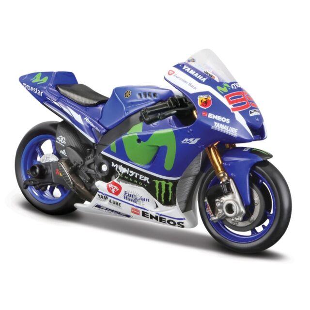 Yamaha Factory Racing Team #99 lorenzo, GP 2016 MAISTO MOTO 1:18